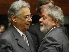 LULA (PT) pede socorro a FHC (PSDB) para evitar Impeachment de Dilma