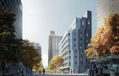 Prefab New York Micro-Unit Apartment Building Offers Affordable ...