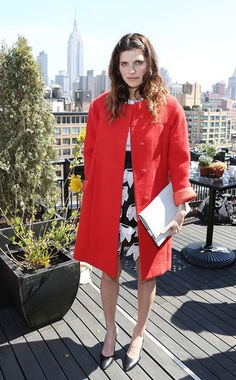 Lake Bell Photos - Actress Lake Bell attends Women's Film Brunch at Company 3 on April 2014 in New York City. - Women's Film Brunch at Tribeca Fashion Fail, Star Fashion, Women's Fashion, Lake Bell, Tribeca Film Festival, Boat Neck Dress, Night Looks, Red Carpet Fashion, Festival Fashion