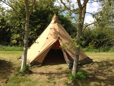 Tentipi Safir 9 on Display at Puxton Park Tent Show #Glamping #Adventure