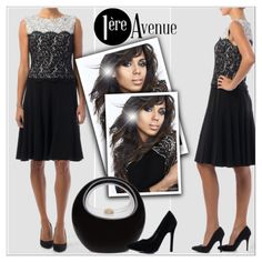 Kerry Washington - Get the look http://premiereavenue-boutique.polyvore.com/ - http://www.1ereavenue.com/ #premiereavenue #StreetSyle @premiereavenue-boutique #JosephRibkoff #classy @polyvore @polyvore-editorial @premiereavenue-boutique Buy here http://www.1ereavenue.com/en/joseph+ribkoff+dress+style+154532-p8522/