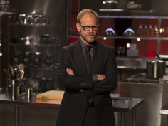 Best new cooking show yet!     Love it!!!  Alton Brown on the set of Cutthroat Kitchen from FoodNetwork.com