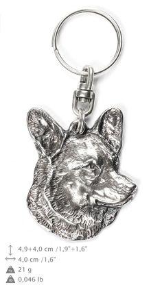 ArtDog Ltd. German Shepherd, a keyring with a dog