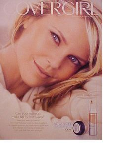 CHRISTIE BRINKLEY Covergirl Women's Make~Up Photo AD #Covergirl