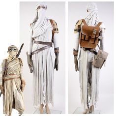 Star Wars VII: Das Erwachen der Macht Rey Cosplay Kostüm für Erwachsene in Kleidung & Accessoires, Kostüme & Verkleidungen, Kostüme | eBay