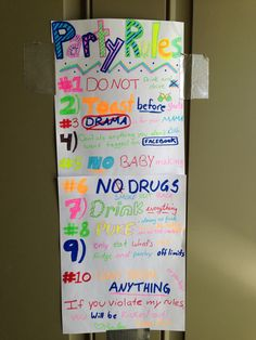house party rules funnies pinterest house party rules party rules and haha - Halloween Party Rules