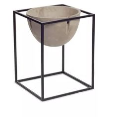 Melrose Pot And Stand Outdoor Planter Set - Brown/Black : Target Stone Planters, Outdoor Planters, Hanging Planters, Outdoor Decor, Pool Landscaping, Outdoor Living, New Homes, Indoor, Target