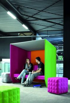 TecnoSpace // Partitions / Glass / Ceilings / Gyproc