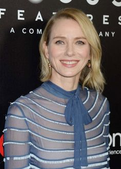 Naomi Watts - Lily of the Valley pink earrings