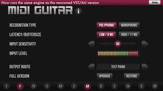 MIDI Guitar von Jam Origin
