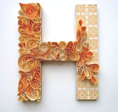 Paper Quilling Letters   Beginners Guide on DIY Quilling Paper Art & 43 Exceptional Quilling ...