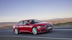 Despite Audi promising a lineup that would no longer resemble a set of four-wheeled matryoshka dolls, the company has gone ahead and taken the wraps off of its redesigned midsize sedan—a car that looks to have crawled out from under an shell. Audi A6, Bmw 5, Carros Premium, Limousine, Car In The World, Car Photos, Audi Quattro, Motor Car, Motorbikes