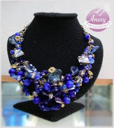 Collar Estelar - Moda mexicana - Aguascalientes #wire