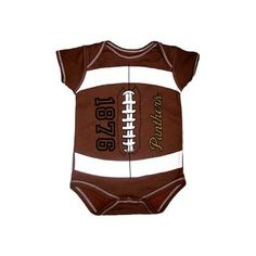 Onesie/inf. Fball | University Book & Supply Panther Cub, Onesies, University, Book, Shopping, Clothes, Outfits, Clothing, Clothing Apparel
