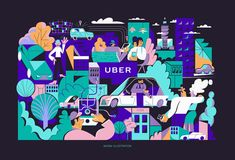 "Check out my @Behance project: ""UBER X KAROL BANACH mural project"" https://www.behance.net/gallery/67596633/UBER-X-KAROL-BANACH-mural-project"