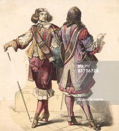 17th century fashion men | title 17th century fashion caption 17th century men s fashions circa ...