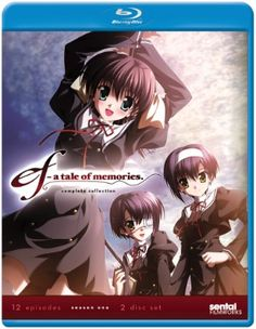 ef ~ A Tale of Memories Blu-ray Complete Collection (Hyb)  Sale!!!! $24.49!!!! #RightStuf2013