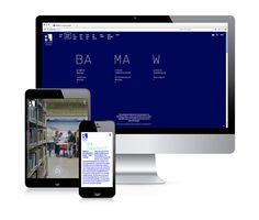 Vakalo Art & Design College website     by pi6 communication design