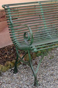 »Garden bench ARRAS 2 or 3-seater« von Replicata - depth 58 cm - Replikate