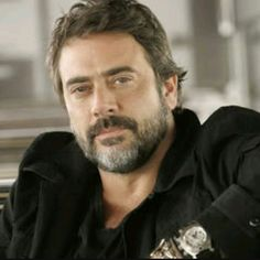 Moustache, Mustache And Goatee, Jeffrey Dean Morgan, Most Beautiful Man, Gorgeous Men, The Walking Dead, John Winchester, Hot Hunks, Pretty Men