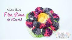 Flor Lívia de #crochê - Desi Winters