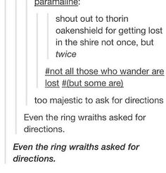 Apparently the Shire cannot be navigated on one's own