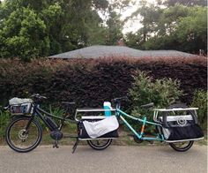 Sometimes your cargo bike might need a little help in getting some place you cant ride to. There are various options for alternate transport of your bike! Motorcycle Towing, Electric Cargo Bike, Towing Company, Train Platform, Loading Ramps, Bike Rack, Truck Bed, Tandem, Rear Seat