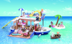 [SF] Seaside Cruiser House Boat buy on Sylvanian Families. , offer Sylvanian Families at discounted rate in Sylvanian Families Sylvanian Families, Mattel Disney Cars, Cosy Cottage, Dickie Toys, Kids Toys, Toys R Us, Die Queen, Cruiser Boat, Chocolate Rabbit