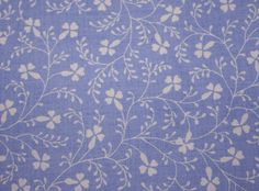 Vintage Laura Ashley fabric campion in sapphire blue by janeych, via Flickr