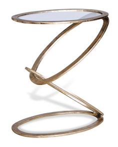 Mobius End Table 20in wide x 12in deep x 22in high