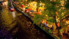 Travel Shot: San Antonio Riverwalk at Night