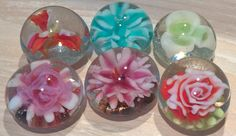Lampwork glassbeads implosion