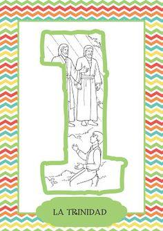 Artículos de Fe: 1 - La Trinidad Trinidad, Primary Activities, Lds Primary, Book Of Mormon, Lds Church, Faith In God, Symbols, Books, Mormons