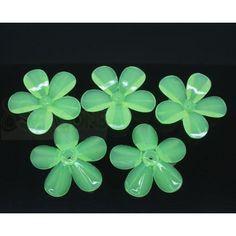 Wholesale 50 Green 5 Petals Spring Flower Acrylic Spacers Beads from China Supplier Acrylic Beads, Spring Flowers, China, Green, Plants, Plant, Porcelain, Planets, Spring Colors