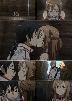 Love tgis scene in Sword art online well until asunna thinks of kirto wanting to sleepover in the other way