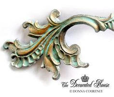 DIY How to Create a Beautiful Aged Turquoise Patina - The Decorated House