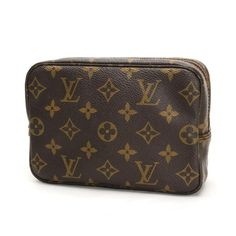 Louis Vuitton Trousse toilette 18 Monogram Small bags Brown Canvas M47526