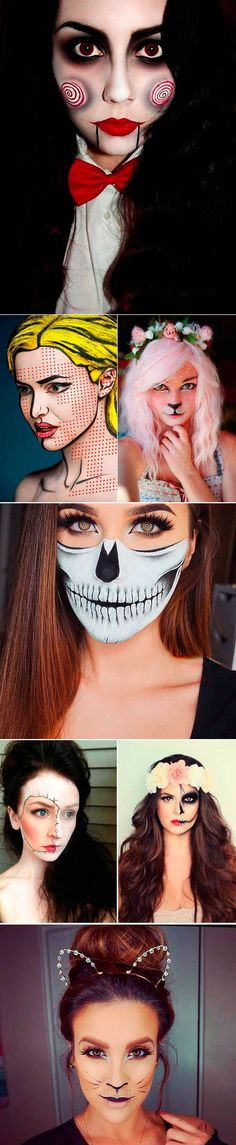 Interesting ideas Halloween makeup http://applecafee.com/wedding/halloween-makeup-ideas.html