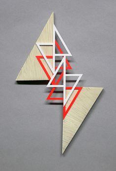 Small Falling Right Triangles. By Sandra Fettingis. Via Flickr.