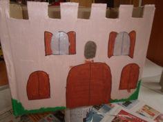 hrad z krabice