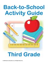Send home this Summer Learning Guide with second grade students to help them prepare over the summer for third grade. This packet contains fun and educational activities including a suggested summer reading list, math worksheets, geography and history lessons, and art-based science activities.