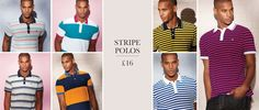 Stripe Polo Shirts Summer 13