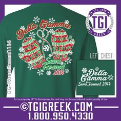 TGI Greek - Delta Gamma - Formal - Comfort Colors - Greek T-shirts #tgigreek #deltagamma