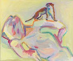 Bildresultat för Maria Lassnig
