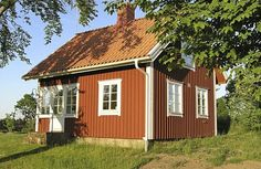 Astrid Lindgren came to my mind when I saw this house in Sweden Sommerhus - Långaryd - S04642