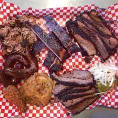 The Pecan Lodge in #Dallas, Texas has your #bbq fix ready. Photo courtesy of bbqsnob on Instagram.
