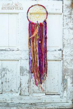 Bohemian Gypsy Dreamcatcher Hippie Decor Woodstock by Studio Yuki, $70.00