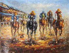 American horse racing paintings for sale,American horse racing ...