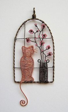 Wire wrapped home decor. Craft ideas from LC.Pandahall.com    #pandahall