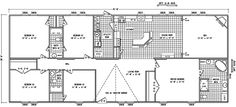 1000 ideas about mobile home floor plans on pinterest for 6 bedroom double wide